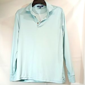 Other - Men's Long Sleeved Polo Shirt